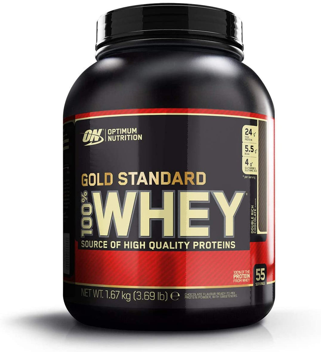 Optimum Nutrition Gold Standard Chocolate 100% Whey, 1.67kg