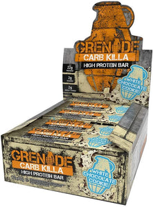 Grenade Carb Killa White Chocolate Cookie Protein Bars 12 x 60g