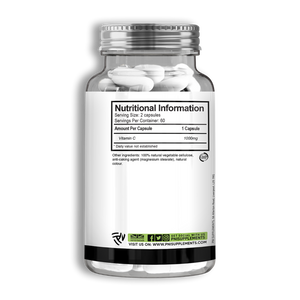 PNI Supplements - Vitamin C - 120 Caps
