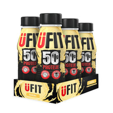 Load image into Gallery viewer, UFIT High 50g Protein Shake Pack of 6 x 500ml