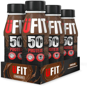 UFIT High 50g Protein Shake Pack of 6 x 500ml