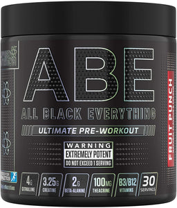 APPLIED NUTRITION ABE - POTENT PREWORKOUT 30 SERVINGS