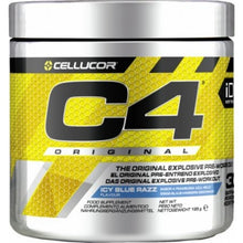 Load image into Gallery viewer, Cellucor C4 Pre-Workout Icy Blue Raspberry 2 x 195g
