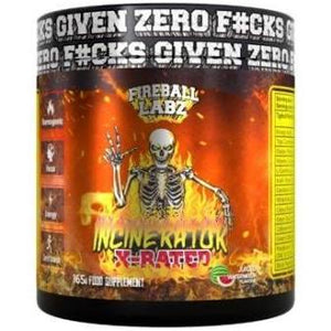 Fireball Labz J Incinerator X-Rated Pre-Workout -165G