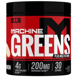 MTS Nutrition Machine Greens Powder 162 grams (Apple & Cinnamon)