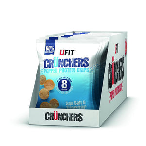 UFIT Crunchers High Protein Crisps - 11 x 35g