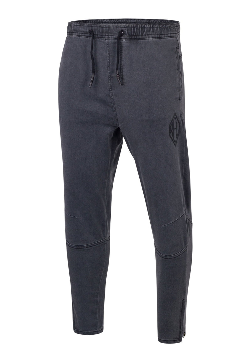 RELIGION Slim Match Denim Jogger Grey