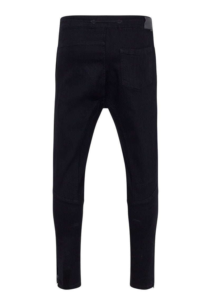 RELIGION Match Denim Jogger Jet Black