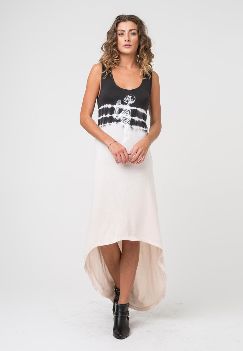 RELIGION Vibration Dress Tie Dye Print