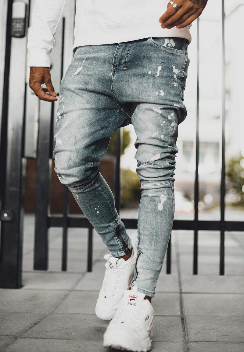 RELIGION Edge Skinny Fit Blue Jeans
