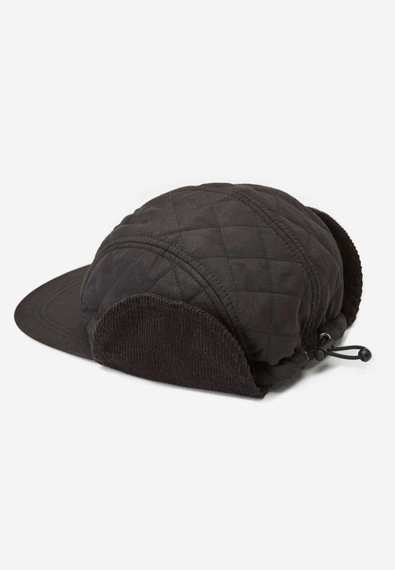 RELIGION Samo Trapper Cap Black