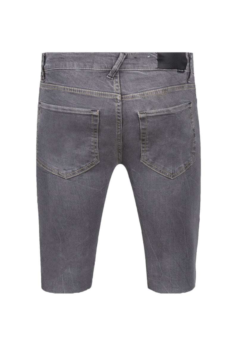 RELIGION Zip Fly Noize Shorts Endino