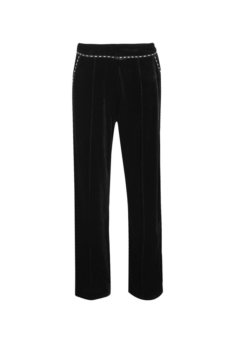RELIGION Sensation High-Waisted Black Trousers