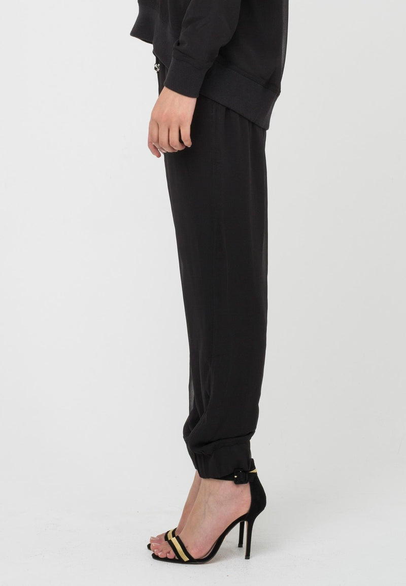 RELIGION Bowie Trousers Black