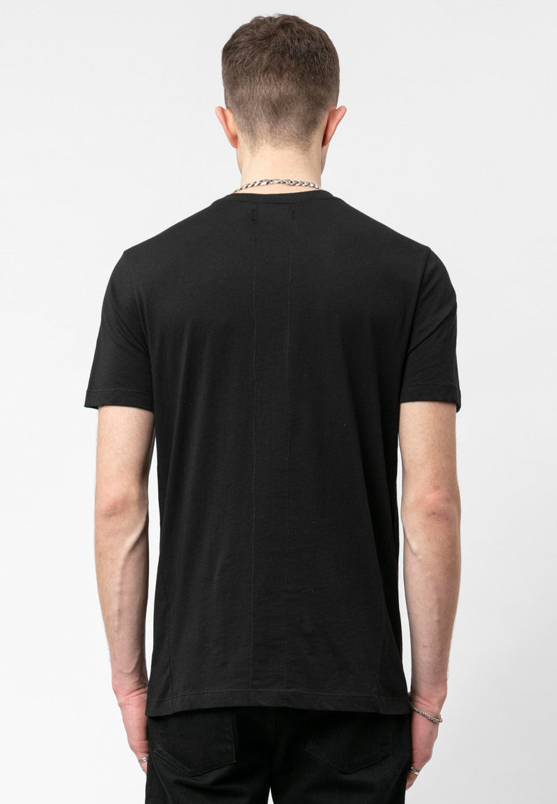 RELIGION Injection Plain Black T-Shirt