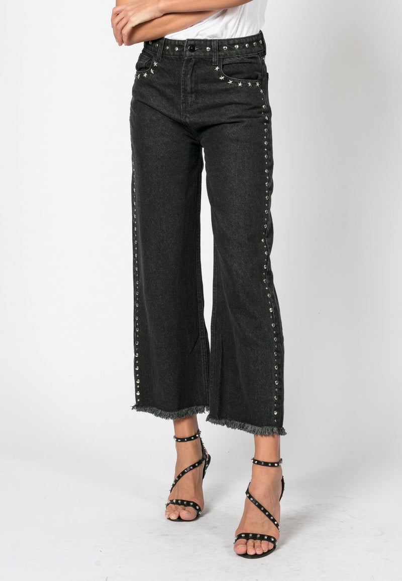 RELIGION Motive High Waisted Denim Jeans