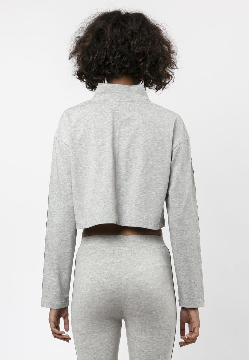 RELIGION Tranquil Boxy Fit Grey Tack Top