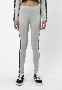 RELIGION Tranquil High-Waisted Grey Leggings