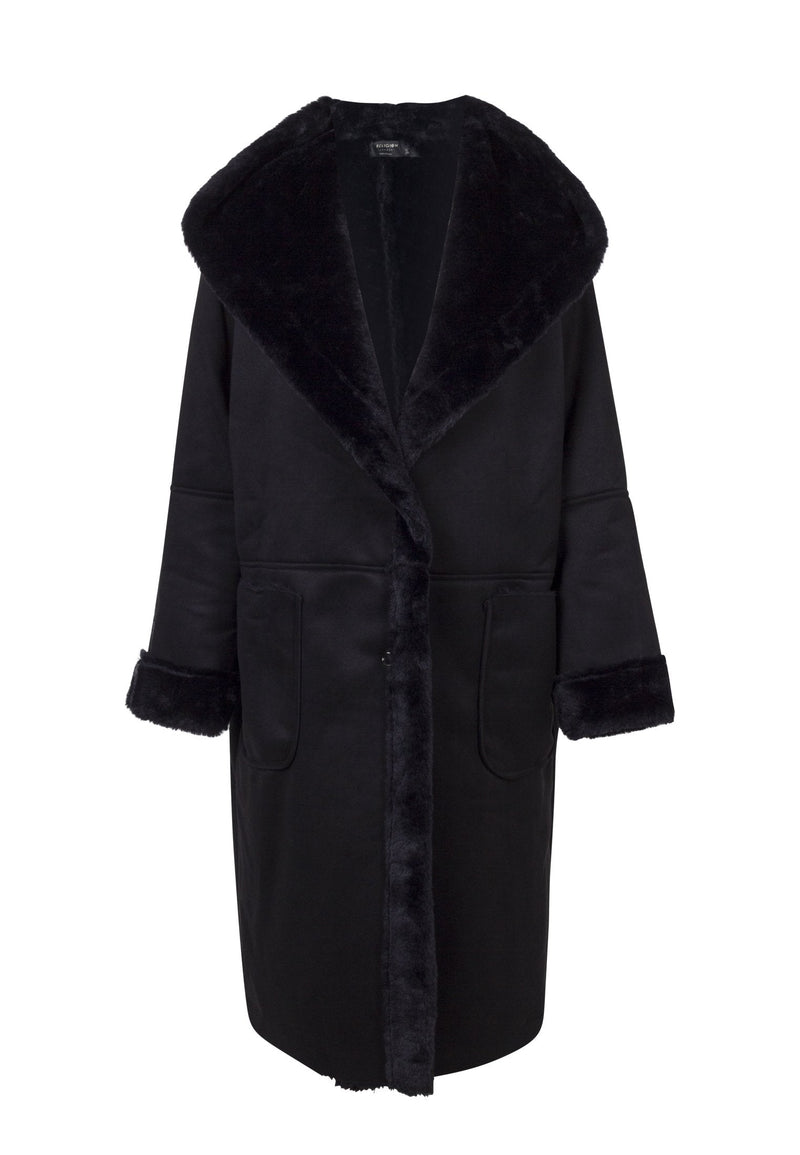 RELIGION Favour Black Coat