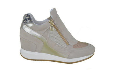 Geox Nydame  D620QA Taupe/Gold - Scarpeshoponline.it