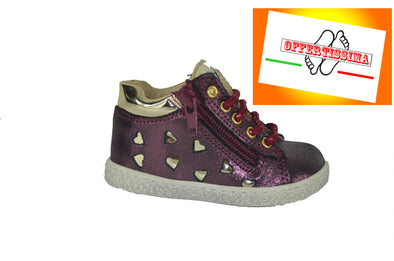 Polacco bimba Melania Kids art. MK0264 Bordeaux