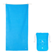 microfiber travel towels blue