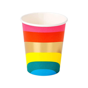 Rainbow Paper Cup (Each)