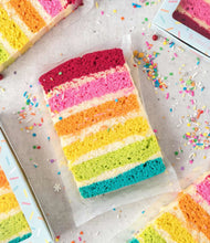 Load image into Gallery viewer, Rainbow Cake Slice