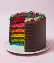 Load image into Gallery viewer, Chocolate Rainbow Cake