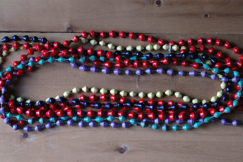 Paperbead necklaces