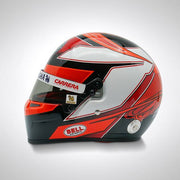 Kimi Raikkonen 2019 Alfa Romeo Bell 1:2 Scale Helmet - Accessories - Black and White