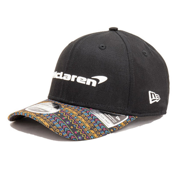 New Era McLaren F1 Racing Team official baseball cap black men