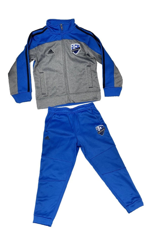 Youth Adidas Montreal Impact 2 Piece Set - Kids - Blue