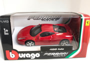 Bburago 1:43 scale Ferrari Race & Play 458 Italia Car - Accessories - Red