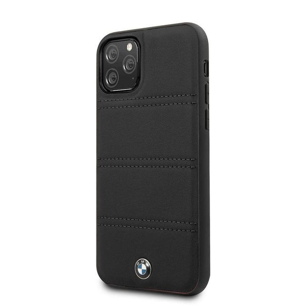 BMW IPHONE CASE LEATHER-BLACK
