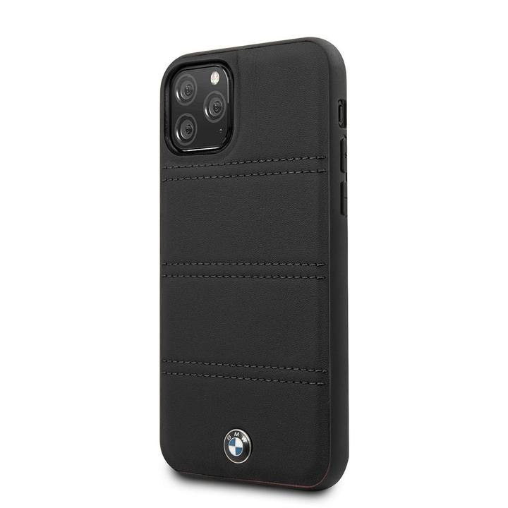 BMW IPHONE CASE LEATHER - BLACK