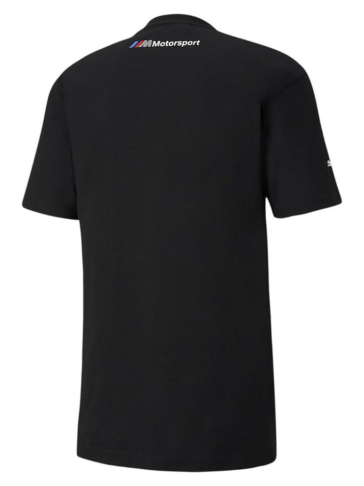 BMW M Motorsport Men's Graphic Logo T-Shirt - Black- Back