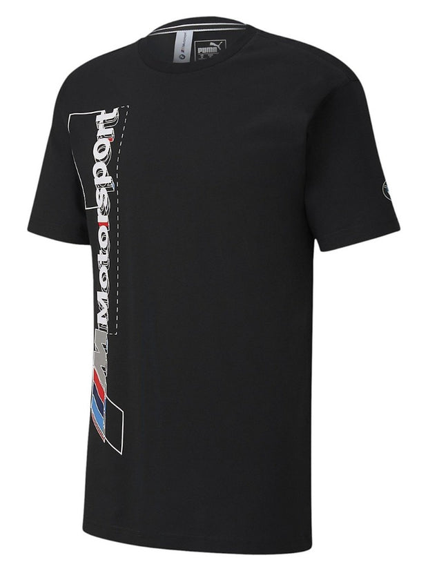 BMW M Motorsport Men's Graphic Logo T-Shirt - Black