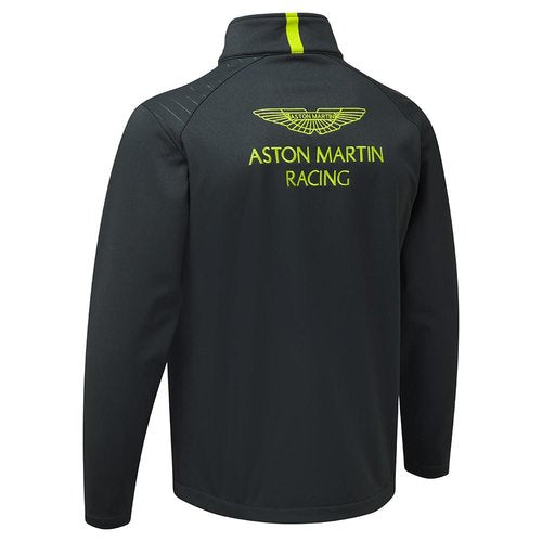 Aston Martin Racing Replica Softshell - Men - Navy and Lime Green - FanaBox