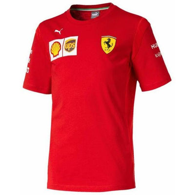 2019 Puma Scuderia Ferrari Team T-shirt - Kids - Red - FanaBox