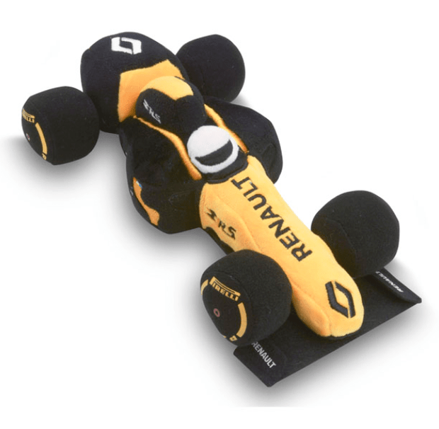 2019 Renault F1® Team F1® Soft Toy - Kids - Yellow - FanaBox
