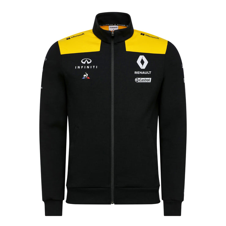 2019 Renault F1® Team Full Zip Sweatshirt - Men - Black - FanaBox