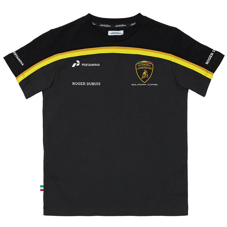 2019 Lamborghini Squadra Corse Team Special Edition T-Shirt - Men - Black - FanaBox