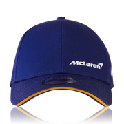 McLaren New Era Logo Cap - Men - Blue