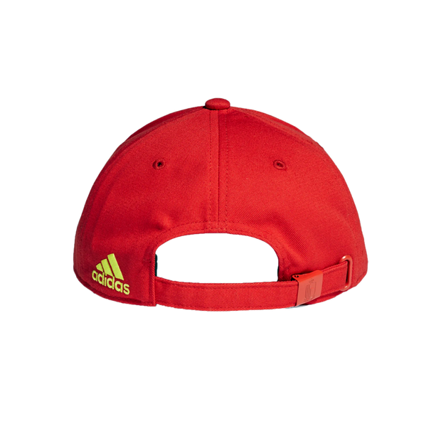 Adidas Royal Belgian FA 1895 National Soccer Team 3 Stripes Cap - Men - Red