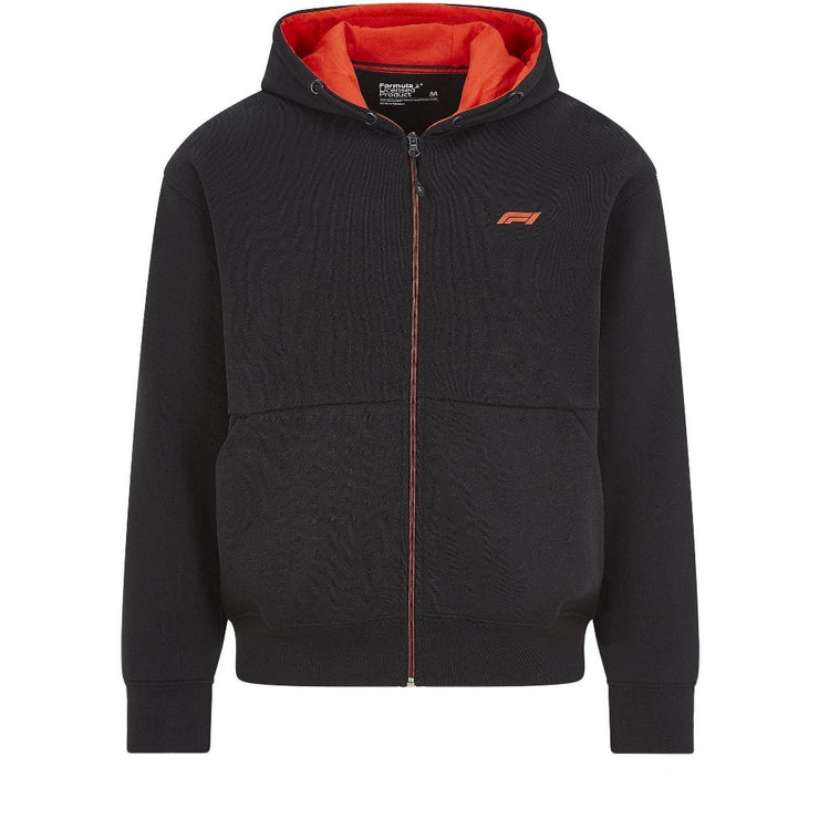 Formula 1™ TECH collection Full Zip Hooded Sweatshirt - Men - Black