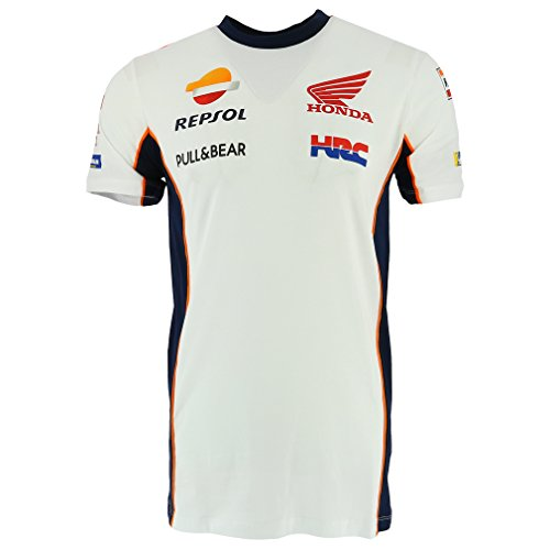 Honda Repsol Moto GP Team Marquez, Pedrosa T-Shirt White Official