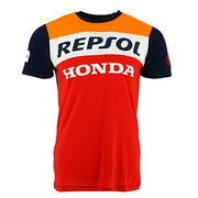 Honda Repsol Moto GP Team Marquez, Pedrosa Panel T-Shirt Official