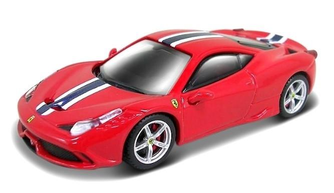 Bburago 1:43 scale Ferrari Race & Play 458 Speciale Car - Accessories - Red