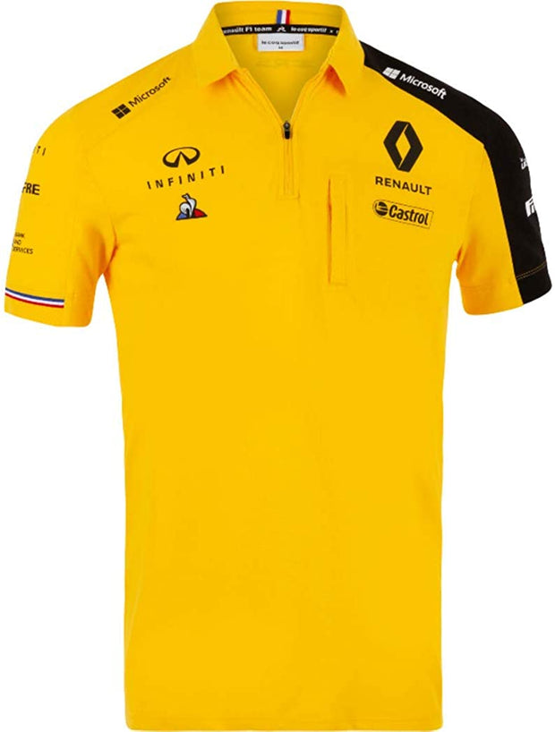 Renault F1® Team Polo shirt - Men - Yellow